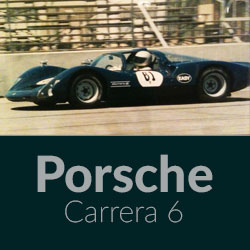 Automotive History Porsche Carrera 6