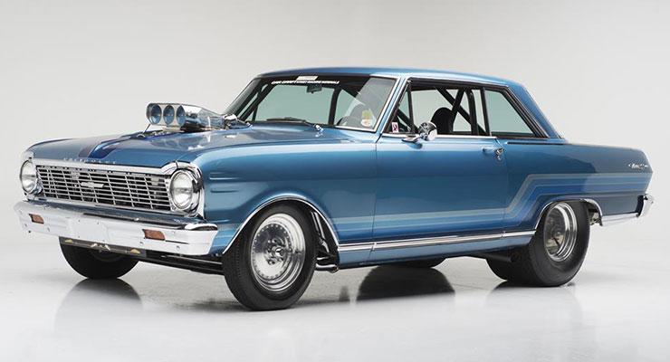 """1965 Chevrolet Nova SS """"Dobbertin's"""" Custom"""