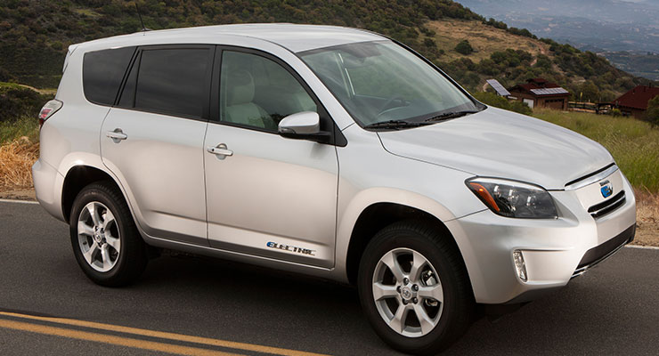 Toyota RAV4 EV - Electric Vehicles Reviews