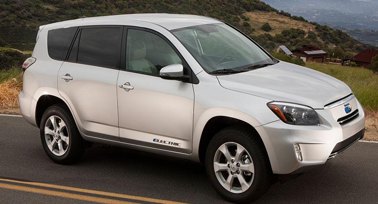 Toyota RAV4 EV - Electric Vehicles Reviews