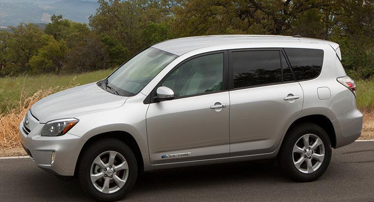 Photos Of Toyota Rav4 Electric Range