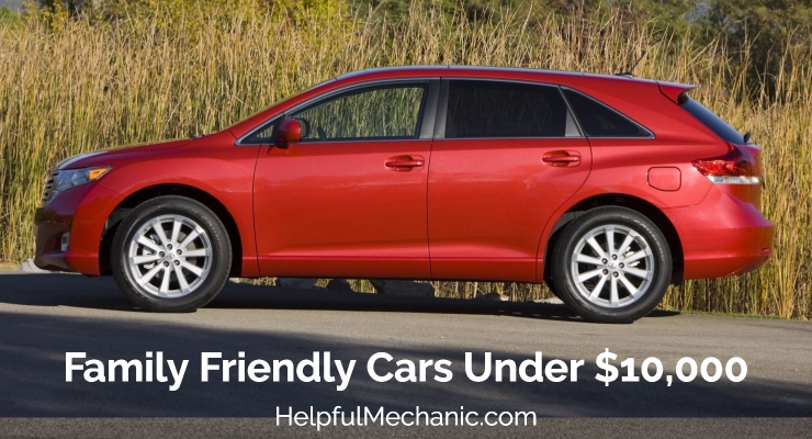 Toyota Family Friendly Cars Under 10K