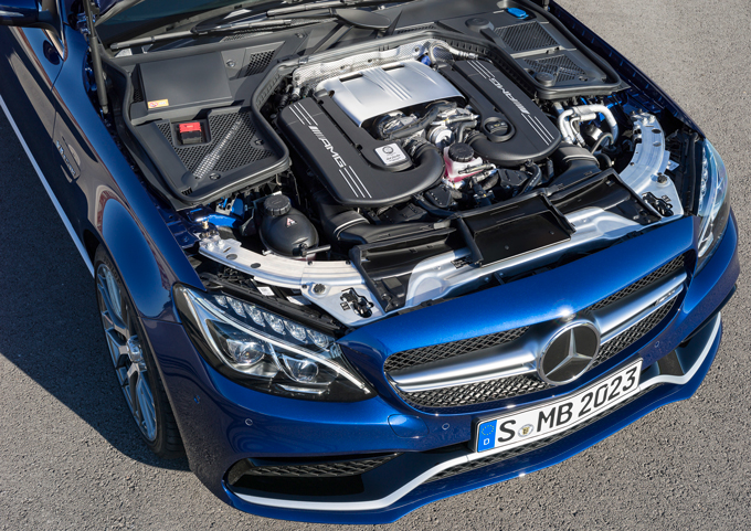Mercedes AMG C 63 Engine